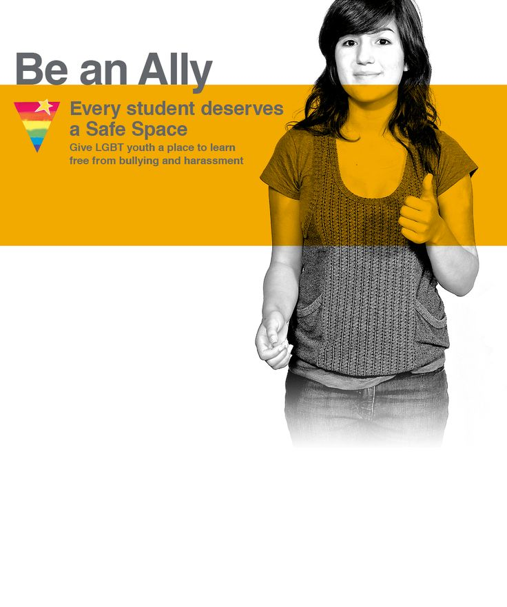 Be an Ally. Help put a Safe Space Kit in every School!