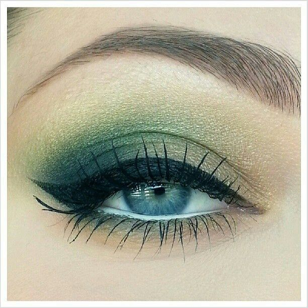 Green make up <3<3<3 Designing and Creativity in Progress <3 ENVIED WEDDINGS & EVENTS www.enviedweddingsandevents.com <3 If you live in Oregon and want your wedding or event to be unique and special, contact us! <3<3