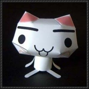 Toro Inoue Cat (Sony Cat) Free Paper Toy