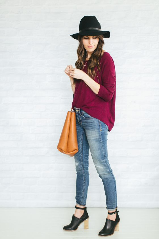Unfancy Fall Capsule Wardrobe 2014 - 4.7 how to wear black and brown together