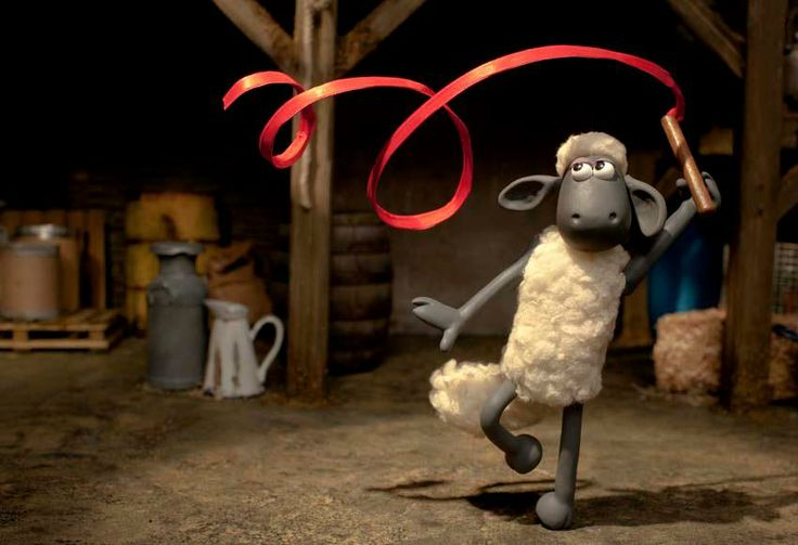 "I wish I were this graceful! ""Shawn the Sheep!"""