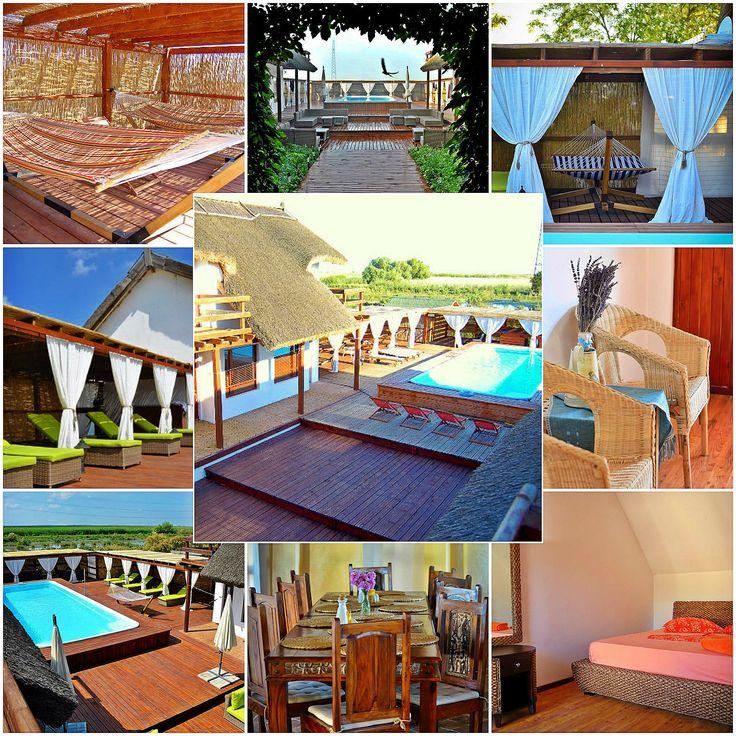 Dacă ești în cautarea unui loc frumos, elegant, cochet, unde să ai parte de liniște și să te poți bucura de soare, piscină și un vin bun, îți sugeram Pensiunea Doi Capitani din satul Crisan, Delta Dunarii.