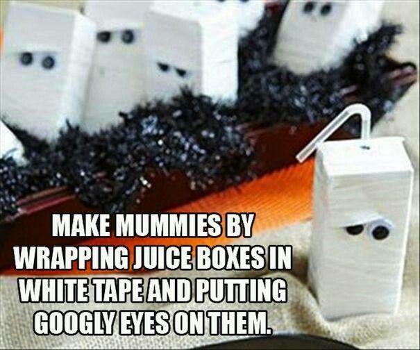 Halloween snack time :-D mummy 31 days of Halloween treats! lela.myitworks.com facebook.com/wraptolose