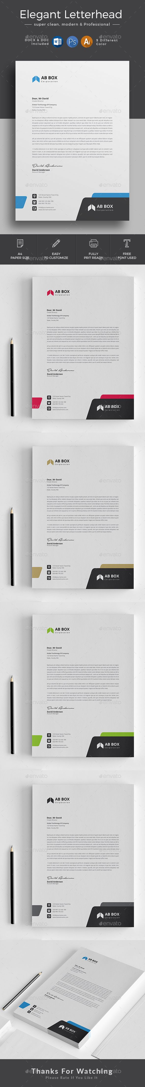 customize letterhead