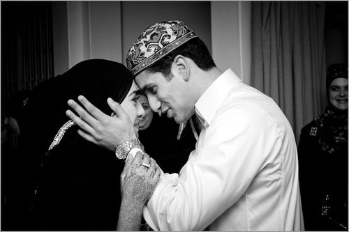 """Paradise is the reward of a wife who pleases her husband until death."" (Hadith from Ibn Majah)."