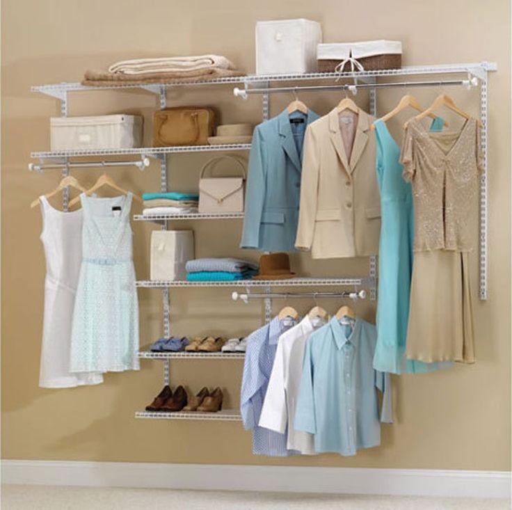 Budget Basics: Cheap Closet Systems