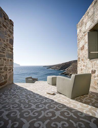 Maison de Paola Navone à Sérifos