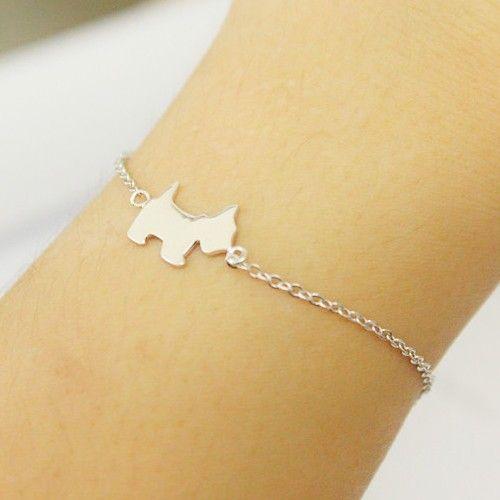 Gold Simple Design Dog Bracelet