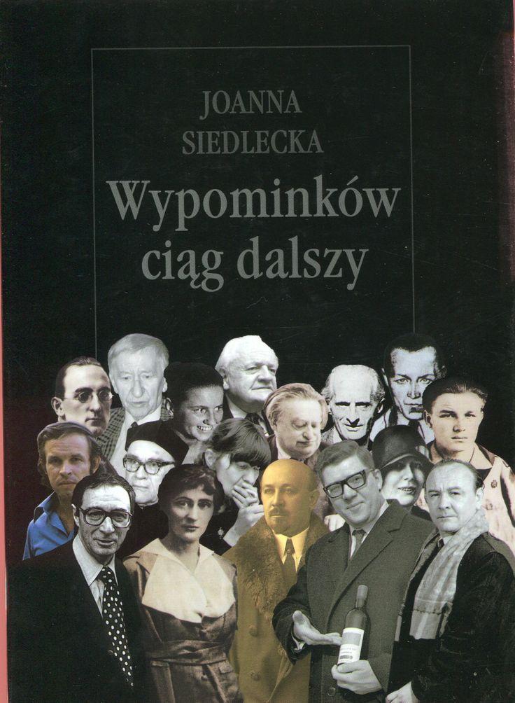 """""""Wypominków ciąg dalszy"""" Joanna Siedlecka Cover by Andrzej Barecki Published by Wydawnictwo Iskry 1999"""