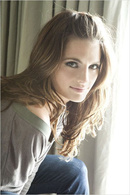 Stana Katic, voice actress for Talia Al Ghul in the game Batman: Arkham City.