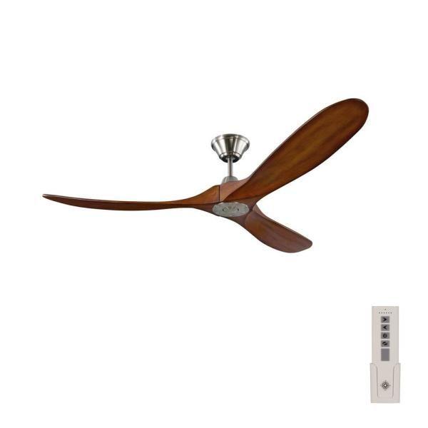 Matte Black Ceiling Fan, Home Depot Outdoor Fans Without Lights