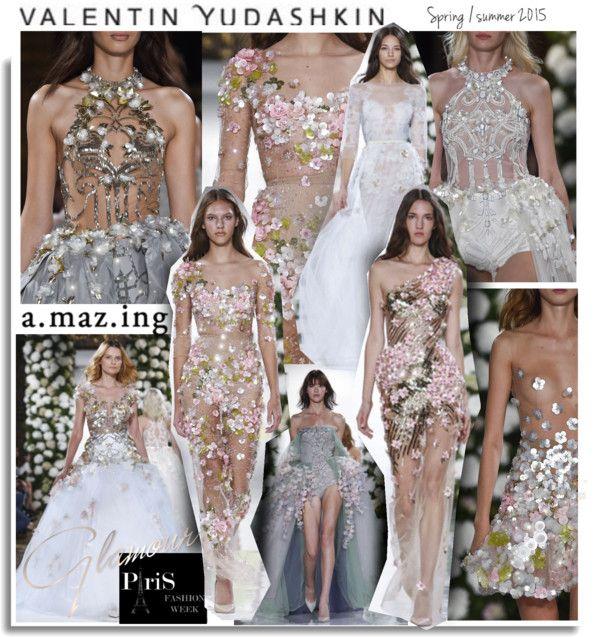 """Valentin Yudashkin RTW Spring Summer 2015 Paris FW"" by hamaly ❤ liked on Polyvore"