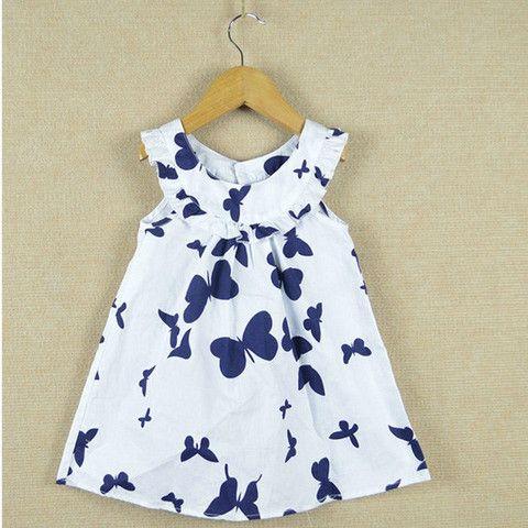 Sweet sweet butterfly dress.