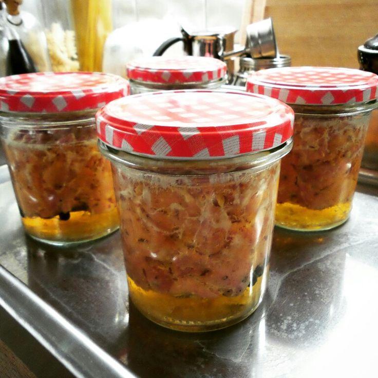 Robimy kiełbasę ze słoika! #kiełbasa #sloik #sloikowka #sausage in the #jar #przetwory #homemade #good #polish #food #dobre #polskie #jedzenie