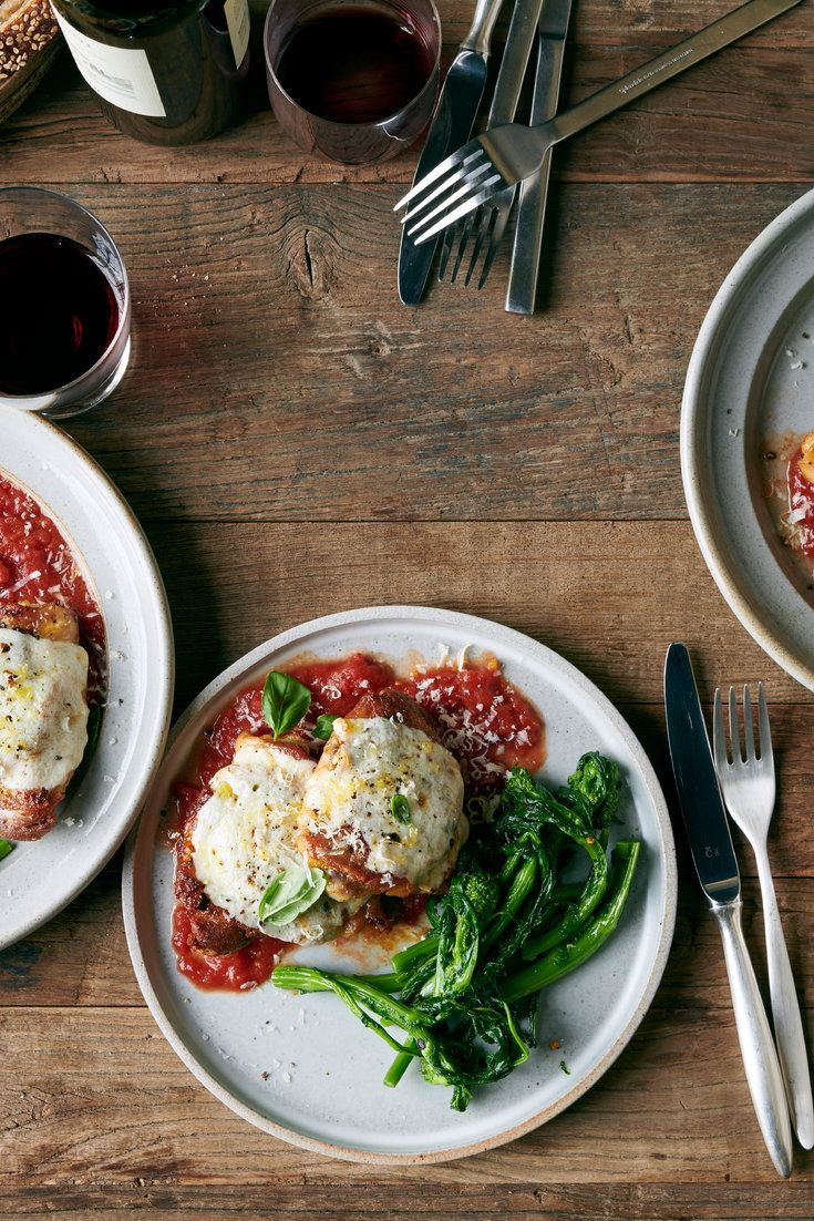 Freestyle Roasted Chicken Parm Recipe Recipes Nyt Cooking