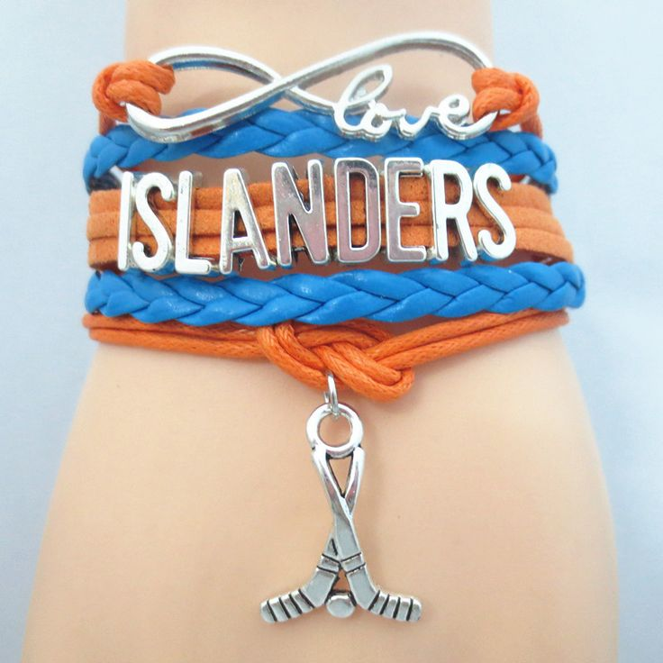 Infinity Love New York Islanders Hockey Bracelet BOGO