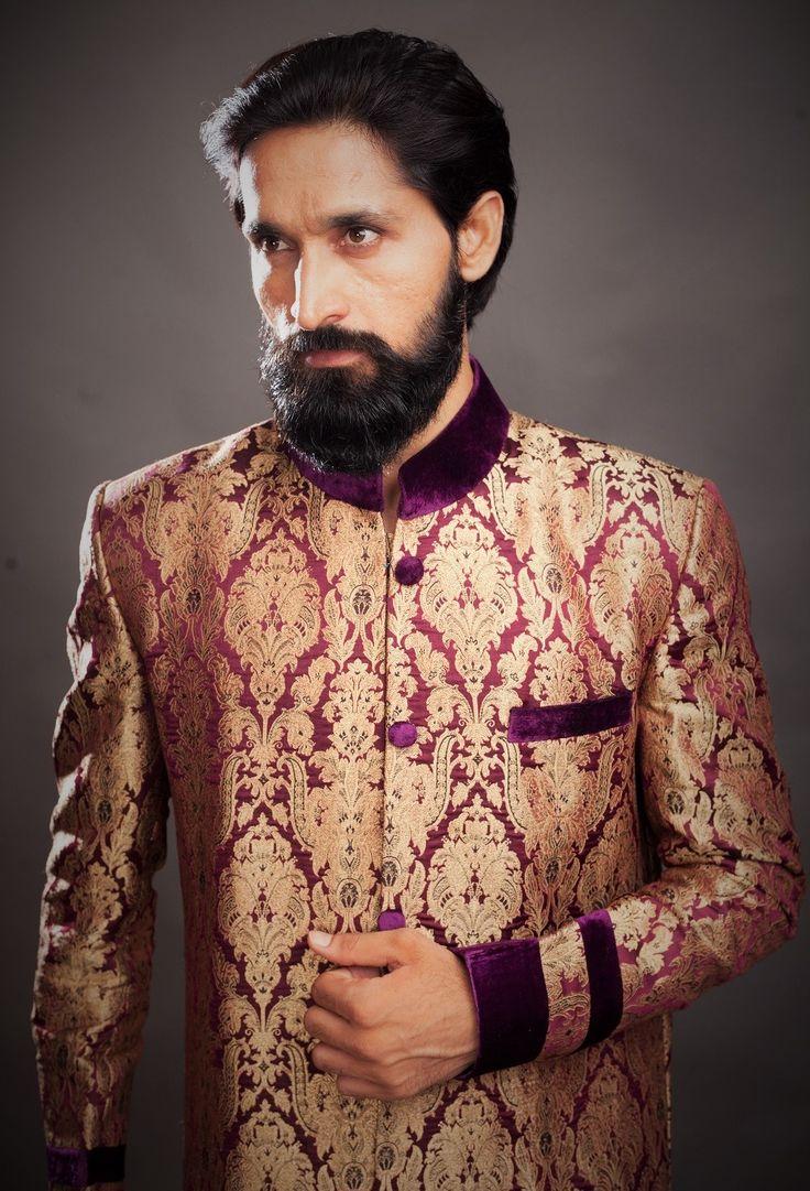 This wedding season, keep it classy with these elegant sherwanis!! Check out www.rentanattire.com