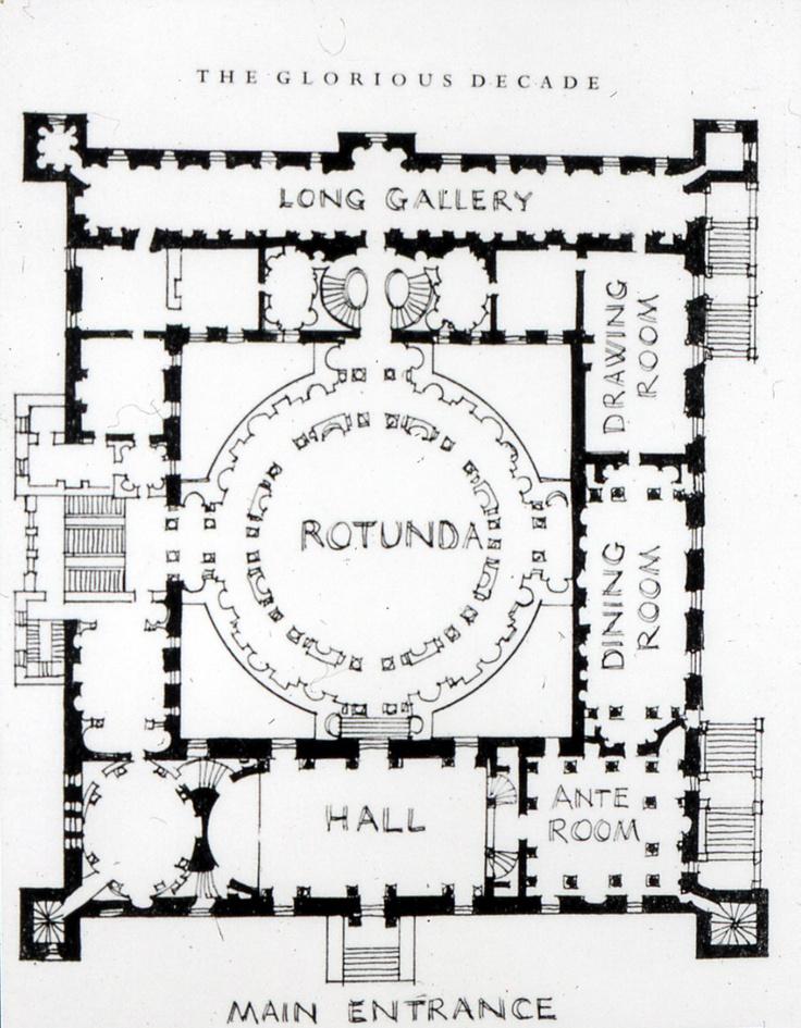 18th century house plans for 100 floors 18th floor