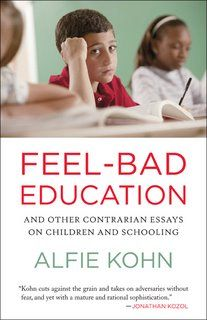Seriously, this book will make you think: about your own education, your children's education, and the future of our country.: Worth Reading, Homeschool Bookstore, Contrarian Essays, Schools, Schooling Alfie Kohn, Classrooms Alfie Kohn, Books Worth, Children, Feel Bad Education