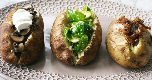 Baked potatoes get fancy
