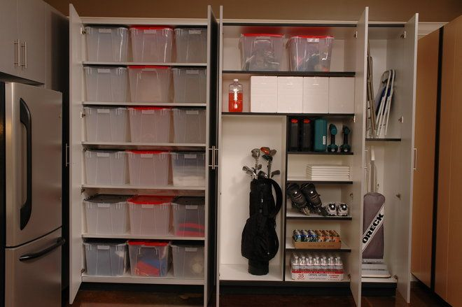 #Garage storage and organization from The Closet Doctor  http://www.closet-doctor.com/