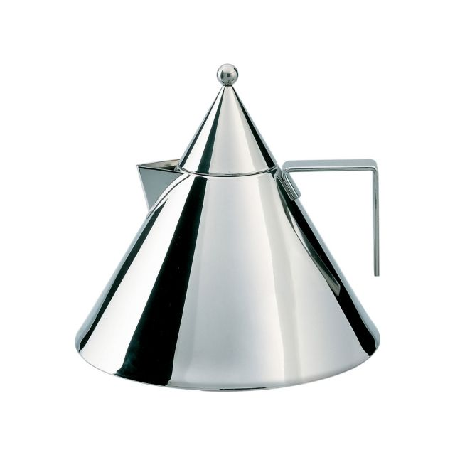 Alessi présente Il conico, 90017,  You can buy it here :  http://store.alessi.com/ita/it-it/catalog/detail/il-conico-bollitore/90017?