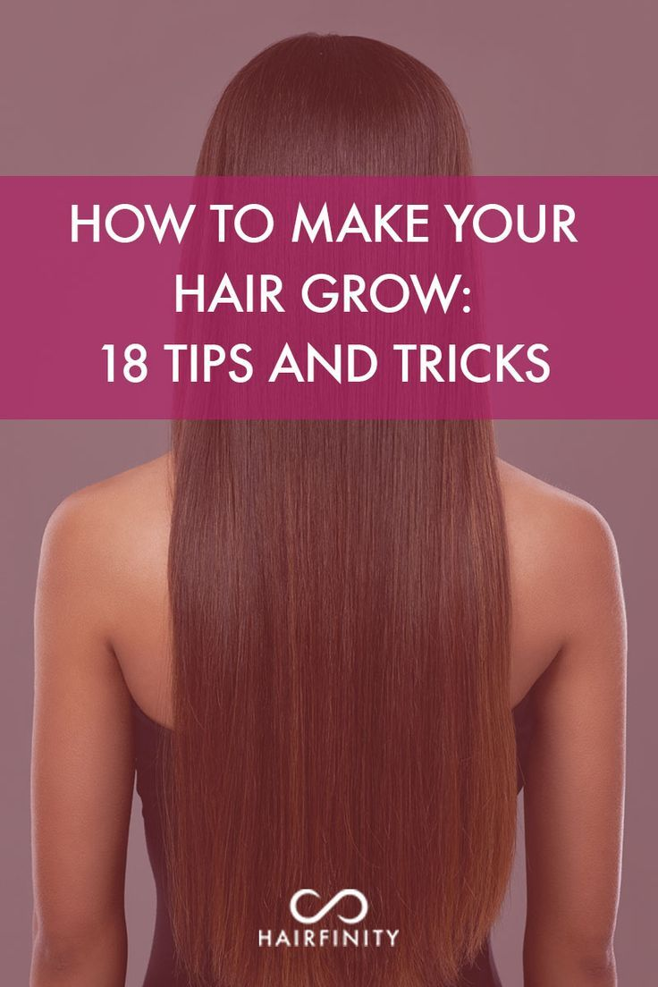 How to Make Your Hair Grow: 18 Tips and Tricks! LEARN MORE at http://hairfinity.com/blog/how-to-make-your-hair-grow/  #howtomakeyourhairgrow