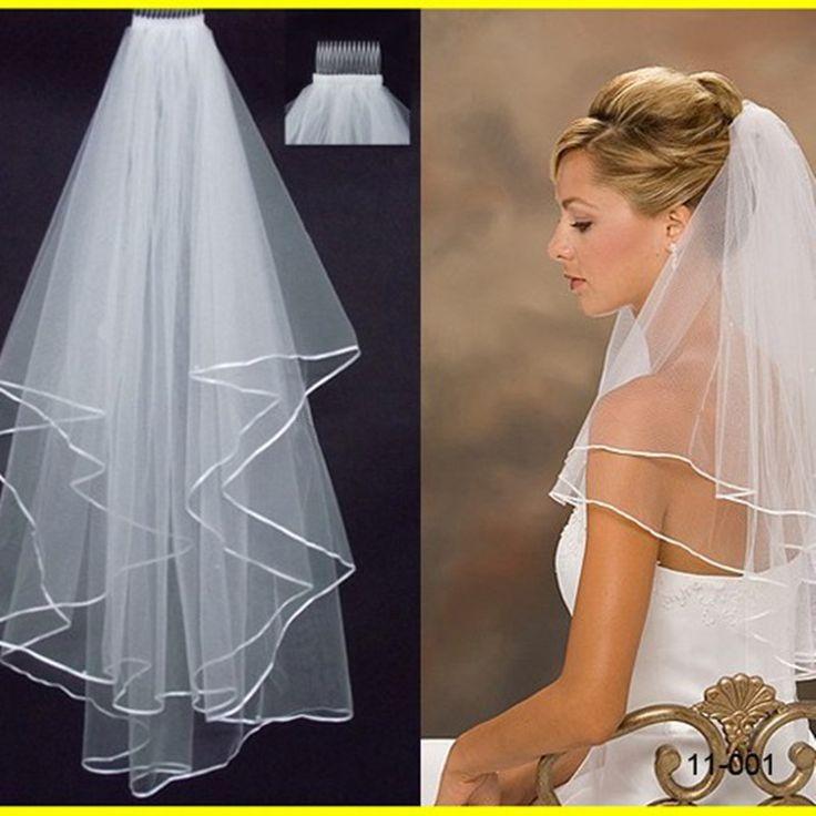 短いチュール安いブライダルベール櫛で2017販売夏結婚式アクセサリーボイルマリアージュホワイトアイボリー安い在庫simpe