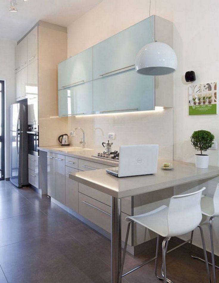45 Good Smart Small Kitchen Design Ideas Kitchen Remodel Small Small Kitchen Decor Kitchen Layout