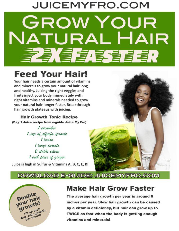 Green Smoothies Natural Hair Growth