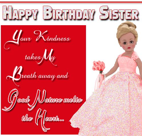 Image result for happy birthday sister glitter graphics