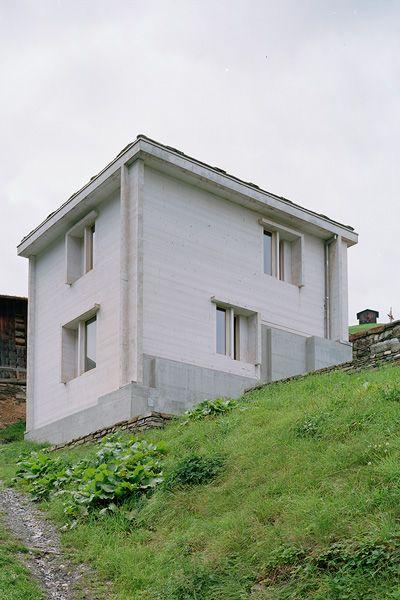 Finn Wilkie — Gion A. Caminada, Renovation, Vrin, 2005 ...
