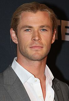Chris Hemsworth. He's freakin' adorable.