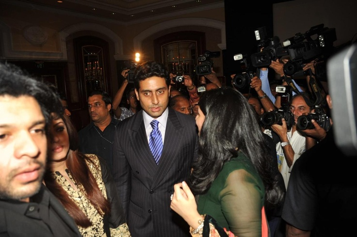 Aishwarya Rai and Abhishek Bachchan at My Father Out Fraternity Book Launch.