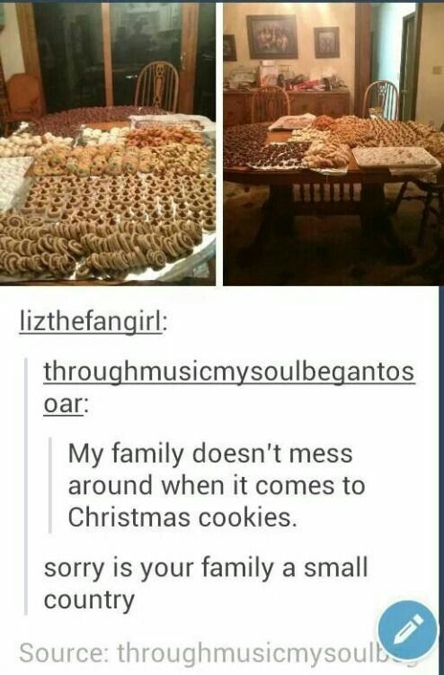 Christmas cookies clean funny