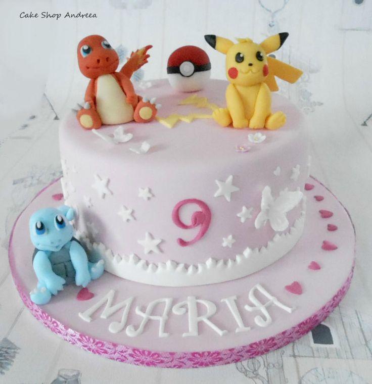 Pokemon Cake - Cake by lizzy puscasu