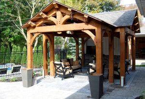 Custom pool cabanas lifestyle studios pergolas custom for Custom pool cabanas