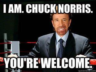 Chuck Norris Meme   Reviews: WWE, DAMIEN SANDOW
