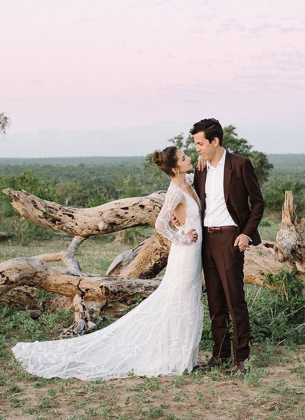 winter wonderland wedding south africa%0A A Safari Wedding in the Heart of South Africa u    s Kruger National Park