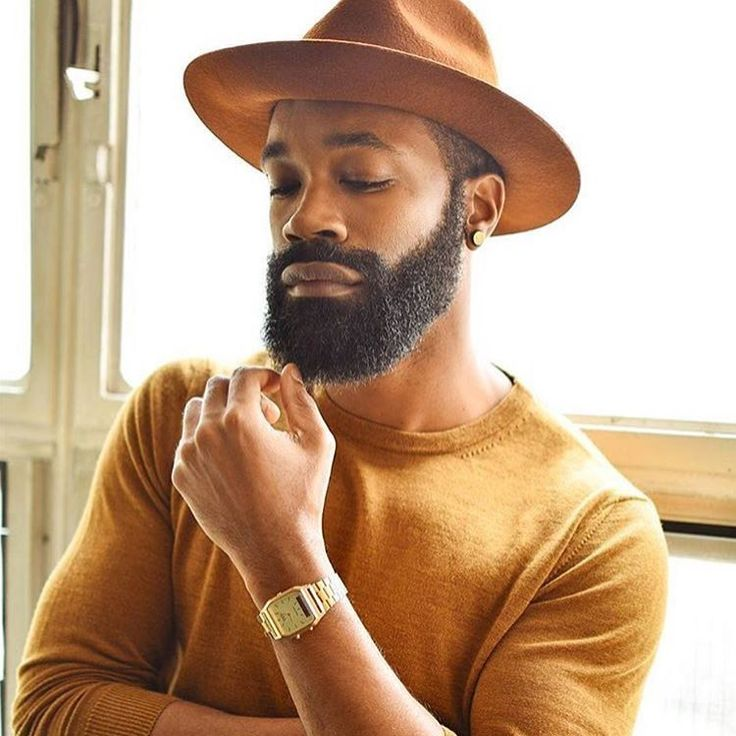 21 Pictures Of Sexy Black Men Stylish Hats, Stylish Men, Mens Shoes With Shorts, Men In Black, Black Guys, Black Men Beards, Men's Fashion, Fashion Vintage, Moda Blog