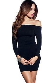 Best 25+ Fitted black dress ideas on Pinterest | Casual black ...