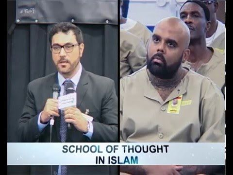 Schools of Thought in Islam - Imran Waheed  During the visit to Pendleton Maximum Security Prison at Indiana USA, one of the prisoners asked a burning question related to Schools of Thought from Imran Waheed #ARAR #Islam #Peace #Brotherhood #Unity #SchoolsofThought