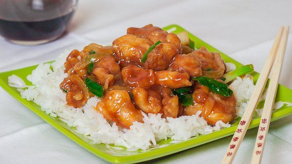 Mongolian chicken right at home. This mongolian chicken is made with boneless chicken thighs, battered then fried and tossed in a delicious sauce.
