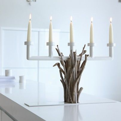 Candle holder Marie Crusoette by Bleu Nature