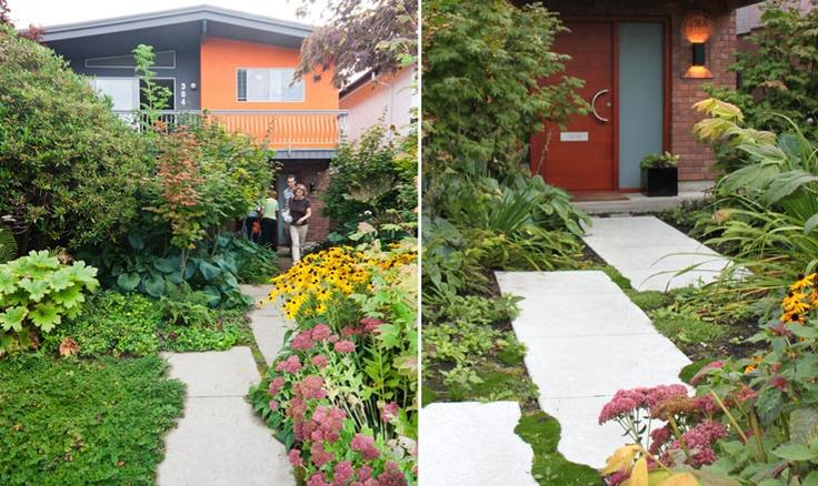Vancouver Special garden renovation.