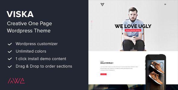 Viska+-+Creative+One+Page+Wordpress+Theme