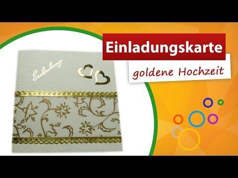 Einladungskarten Goldene Hochzeit Selbst Gestalten : Einladungskarten Zur Goldenen  Hochzeit Selbst Gestalten Kostenlos   Online Einladungskarten   Online ...