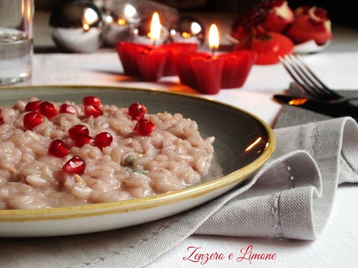 Il risotto alla melagrana e gorgonzola è un primo piatto perfetto da portare in tavola quando si hanno ospiti. Semplice, veloce ed insolito.