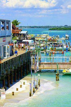 Florida John S P Boardwalk Madeira Beach Things To