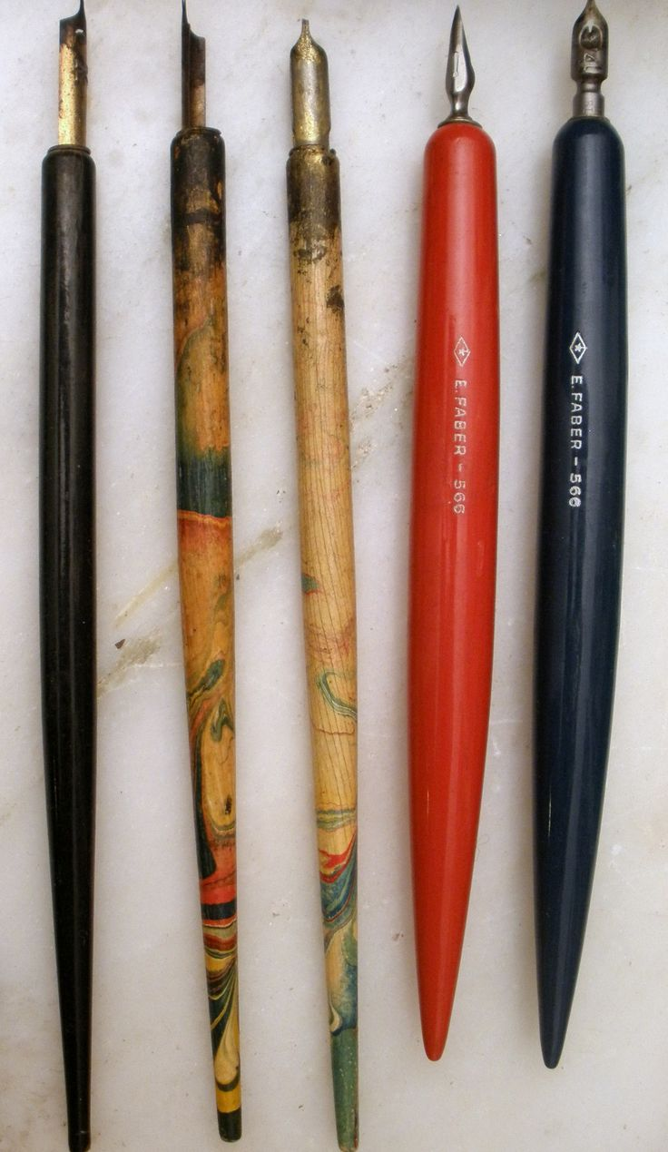 vintage pens and nibs